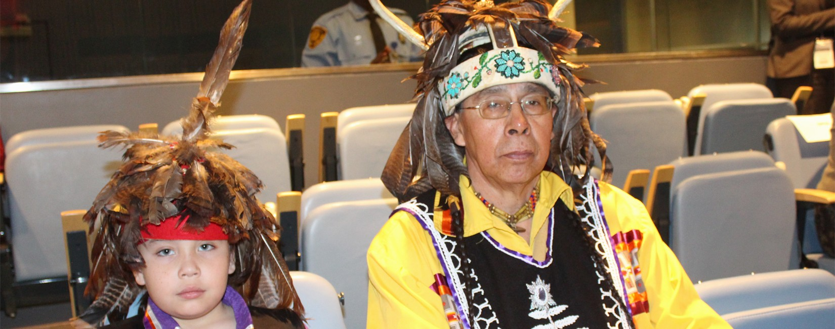 Indigenous leaders attending UN permanent Forum on Indigenous Issues
